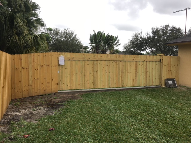 Las Vegas, Nevada Fence Installation.