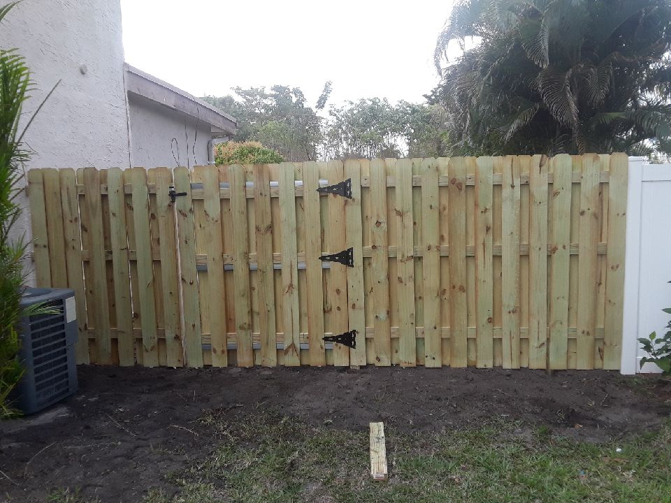 Backyard Fence Installation in Tule Springs, Nevada